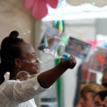 Performance - bubbles!